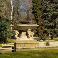 Фонтан в парке. :: barsuk lesnoi