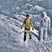 Встреча с снежным человеком) :: Владимир