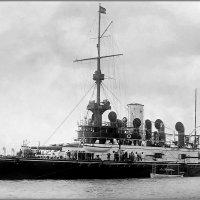 "Austro-Hungarian coastal defense battleship ""SMS Wien"" in 1898. :: Александр"