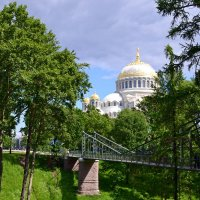 Макаров мост и Морской собор :: Ольга