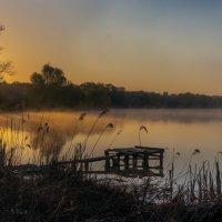 Утро на озере... :: Сергей