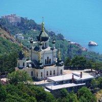 Собор на Форосе-Крым :: Наталия Григорьева