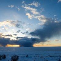 закат над Белым морем :: Елена Кордумова