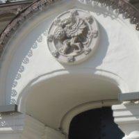 «Герб рода Романовых» на фасаде Палат в Зарядье :: Маера Урусова