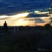 Закат из моего окна :: Takt Довгоброд