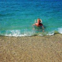 Ласки тёплого моря... :: Sergey Gordoff