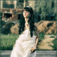 То ли девушка, а то ли виденье... :: Наталья Ильина