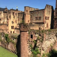 Гейдельбергский замок - главная резиденция курфюстов Пфальца до конца 17 века. :: Anna Gornostayeva