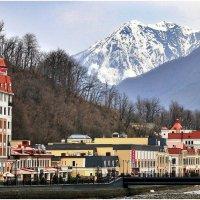 Горный курорт на Красной Поляне :: Ирина Беркут