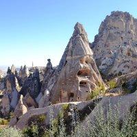 турция, каппадокия, крепость :: Александр