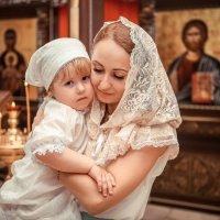 Таинство Крещения в Храме Святого Иоанна-Крестителя в г.Краснодаре :: Виктория Воронцова