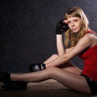 После тренировки :: Алина Меркурьева