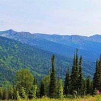 Хребет Скалистые горы :: Сергей Чиняев