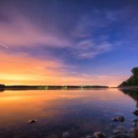 Майский вечер на Истринском водохранилище :: Наталия Горюнова