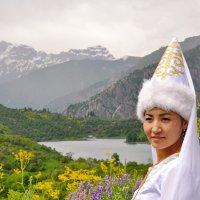 Кыргызская красавица :: santamoroz