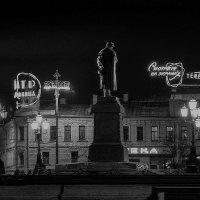 Москва. На это смотрел А.С.Пушкин с 1950 года по 1977-й. :: Игорь Олегович Кравченко