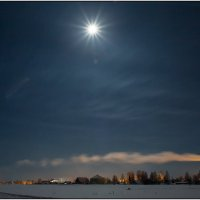 Лунная ночь :: Валентин Кузьмин