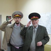 Репетиция военного парада поколений... :: Алекс Аро Аро