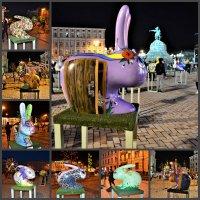 Выставка пасхальных зайцев :: Валентина Данилова