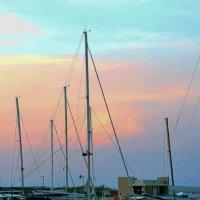 Вечерняя прогулка на яхте :: Svetlana Erashchenkova