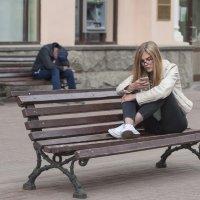 На лавочках :: Александр Степовой