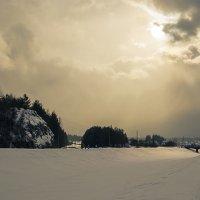 Стихия. Снеговая туча. :: Сергей l