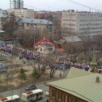 Первомайский парад 2018. Томск :: Георгий Светлов