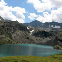 Озеро Акчан... :: Dmitry Saltykov