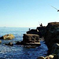 рыбаки разного уровня :: Александр Корчемный