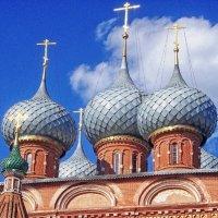 Воскресенские купола :: Галина Каюмова