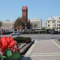 1 мая на Площади Независимости в Минске :: Александр Сапунов