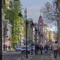 Пятницкая улица в Москве :: Евгения Photolife