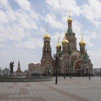 Вид на собор Благовещения Пресвятой Богородицы в Йошкар-Оле. :: Анатолий Грачев