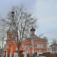 Городок Семёнов.  Старообрядческая церковь. :: Mary Коллар