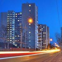 Ночные улицы(Сургут) :: Олег Петрушов