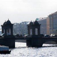 мост Ломоносова. :: Юрий Слепчук