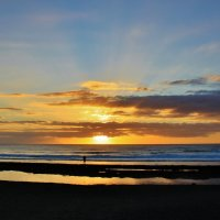 Атлантическое золото заката :: Natali Positive