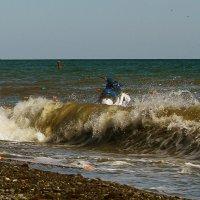 Неспокойное море. :: barsuk lesnoi