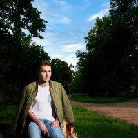Портрет в парке :: Дмитрий Гришечко