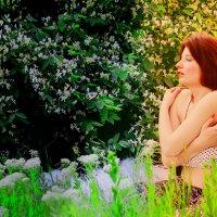 Мари целовать день и обнимать вечер :: Роза Бара