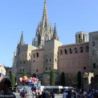 Барселона,  Готический квартал :: Lüdmila Bosova (infra-sound)