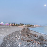 море и луна :: Наталья Кичигина