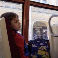 В трамвае :: Александр