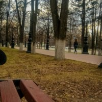 Уфа (скамейка) :: Георгий Морозов