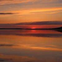 Когда уходит солнце :: галина северинова