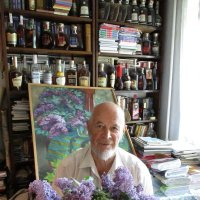 Сиреневый портрет поэта-философа  Михаила Арошенко :: Алекс Аро Аро