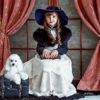 Дама с собачкой :: Ольга Прусова