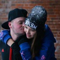 зимний поцелуй :: юрий мотырев