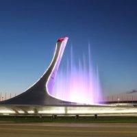 Поющие фонтаны в Олимпийском парке :: Наталья Кичигина