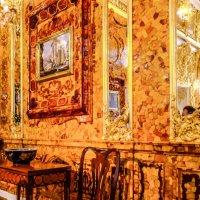 Известная янтарная комната в Екатерининском Дворце :: Георгий